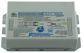 Robertson PSP2GPH40HOIVDW UV Germicidal Ballast