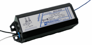 HP218SP /B Robertson Ballasts 18W 2-pin CFLs - Side Exit Leads