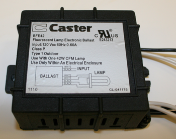 Caster BFE42 Ballast