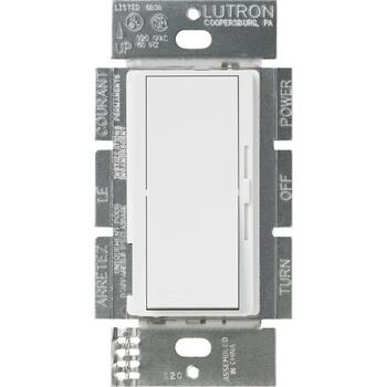 DVSTV-WH Lutron Diva White Dimmer Switch