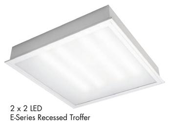 TCP E-Series 2x2 Troffer