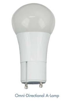 TCP 10W GU10 OmniDirectional A19 LED Lamp
