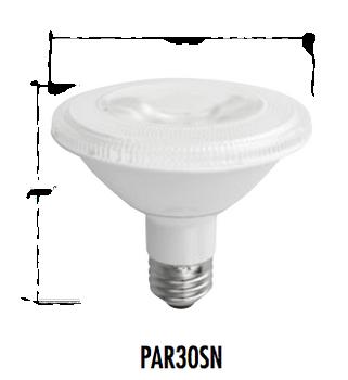 TCP 10W PAR30S LED Flood Lamp