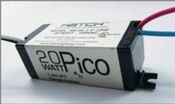 MC20-1-F-120Z Hatch 20W Pico Slim eHID Ballast - Feet
