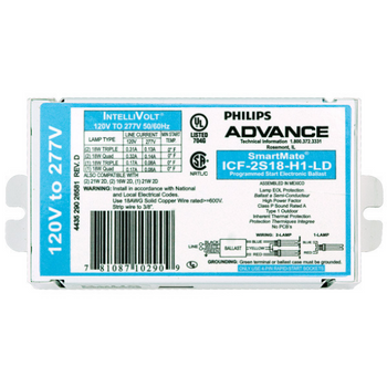 ICF-2S18-H1-LD Advanced CFL Ballast