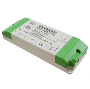 RACT20-500 RECOM Power LED Driver