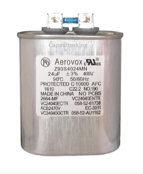Z93S4024MN/2664-MF Aerovox Metal Capacitor - 400V 400W 24.0 UF