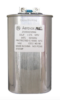 Z93S5232NN/3726-MF Aerovox Metal Halide PS Capacitor - 525V 1500W 32UF