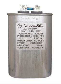 93S5224NN Aerovox Metal Capacitor - 525V 1500W 24UF