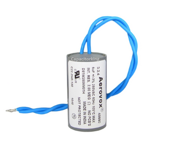 D81W2806M (4402-P) Aerovox Metal Capacitor - 280V 50W 6UF