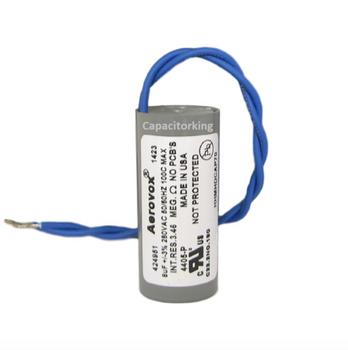 D81W2808M (4405-P) Aerovox Metal Capacitor - 280V 70W 8UF