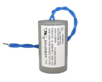 D83W3316M (4421-P) Aerovox Metal Capacitor - 330V 150W 16UF