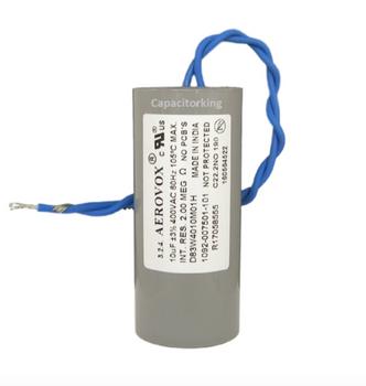 D83W4010M (4616-P) Aerovox Metal Capacitor - 400V 175W 10UF