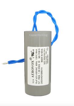 D83W4015M (4617-P) Aerovox Metal Capacitor - 400V 200W 15UF