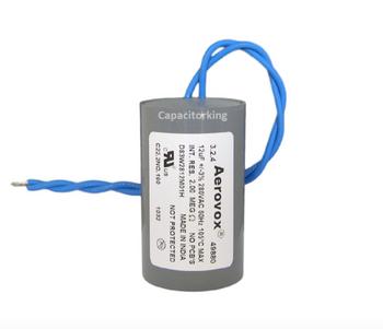 D84W4024M (4618-P) Aerovox Metal Capacitor - 280V 100W 12UF