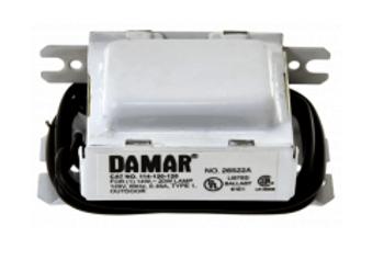 114-120-120 Damar Magnetic Preheat Ballast