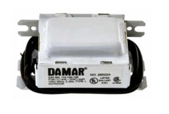 114-120-120 Damar Magnetic Preheat Ballast