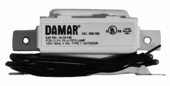 14-19-120 (LC-4-9-C) Damar Magnetic Ballast