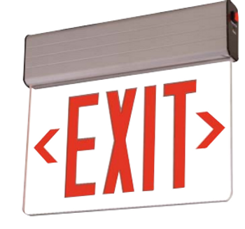 Cooper REUSA18R AtLite Rival Series Exit Sign