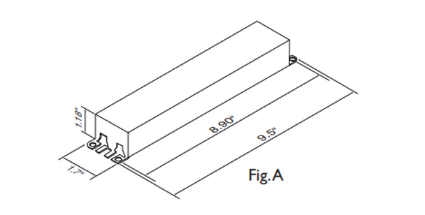 REB-2P32-SC Advance Residential Fluorescent T8 Ballast
