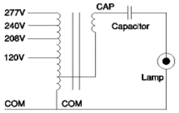 CMH0250H04932 M Robertson Electromagnetic M58 MH Ballast Kit