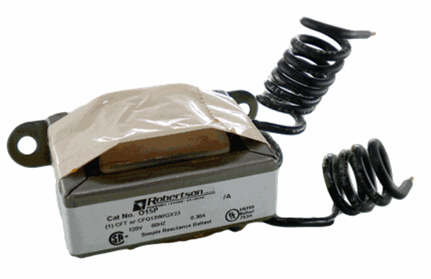 015P (formerly 015) Robertson 753H Magnetic Ballast - 120V on