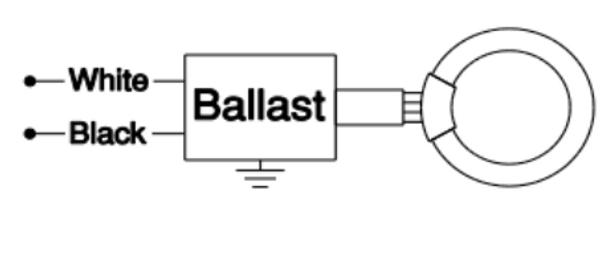 RSO140C120WS Robertson Circline Ballast with Socket Connector
