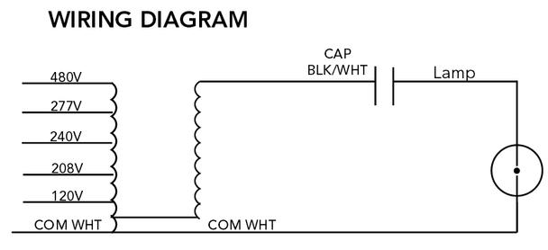 M-175-5T-CWA-K Howard Metal Halide Ballast Kit