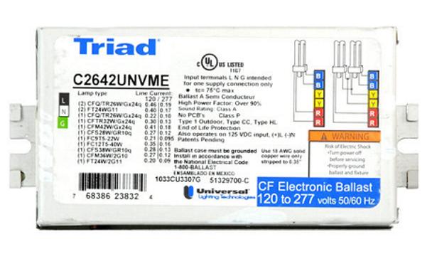C2642UNVME Universal Triad