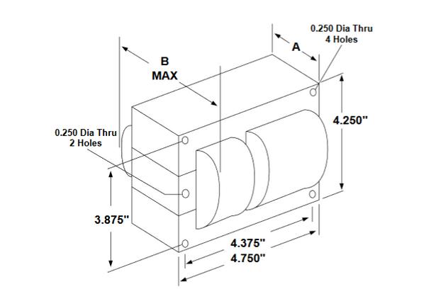 M400MLTAC4M-500K Universal Metal Halide 400 Watt Ballast Kit
