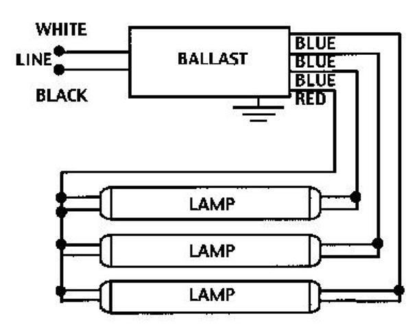 GE332MAX-G-N (Replaces GE-332-MV-N) GE 74456 UltraMax Ballast | Ge T8 Ballast Wiring Diagram |  | BallastShop.com