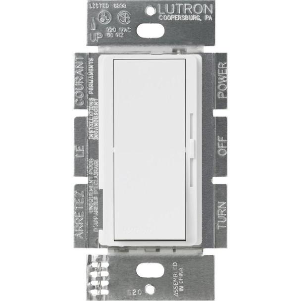 DVSTV-WH Lutron Diva White Dimmer Switch