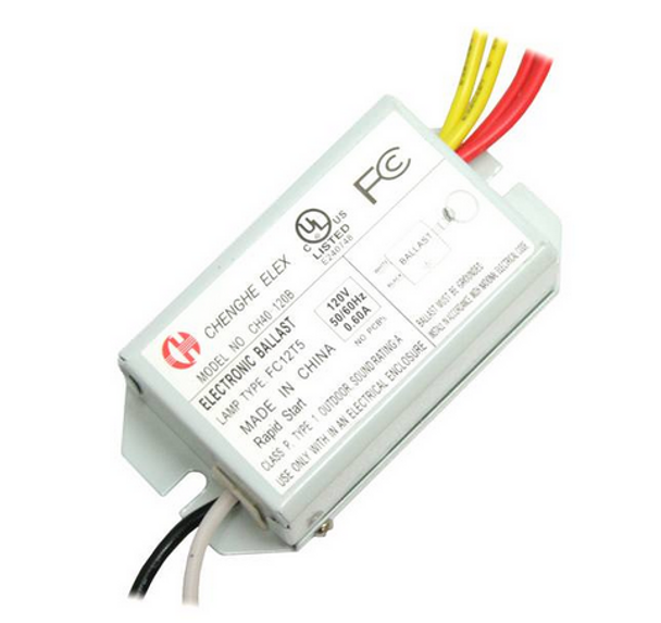 Chenghe Elex CH40-120B Electronic Ballast - 40W Circline Only