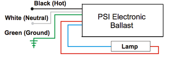 M Magnetic Ballast Wiring Diagram on