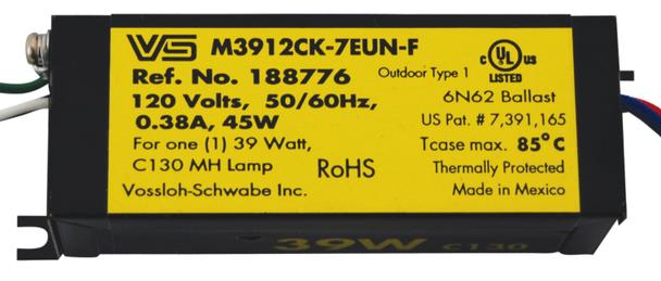 M3912CK-7EUN-F Electronic Metal Halide Ballast