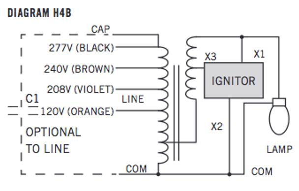 MH-150X-Q-KIT Wire Diagram