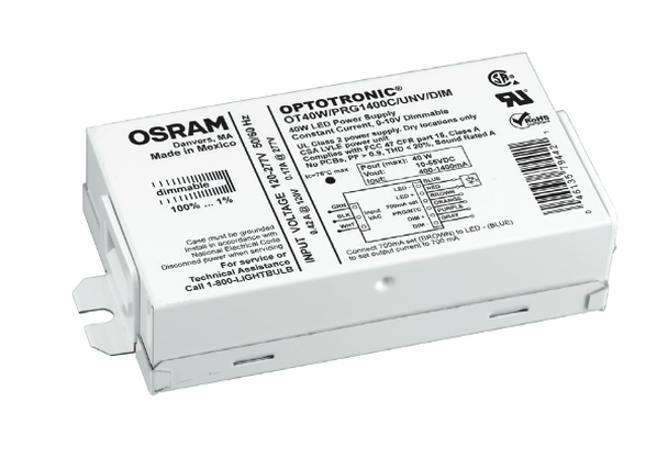 OT40W Optotronic LED Power Supply