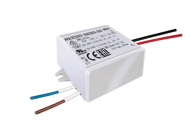 RACD03-350 RECOM Power LED Driver