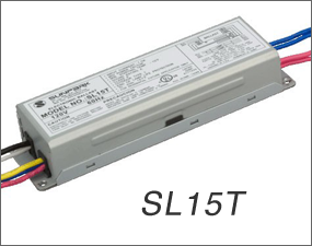 SL15T-1 Sunpark electronic circline ballast w lamp holders attached 22W 32W T9