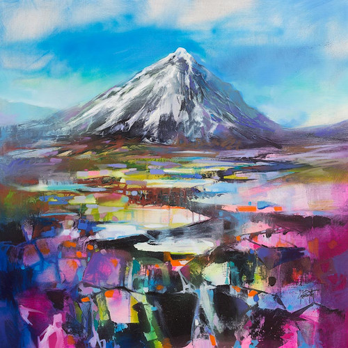 Buachaille Pyramid by Scott Naismith.