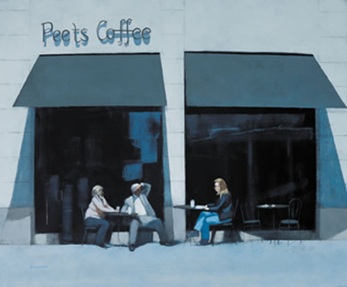 Coffee Break Montanna Avenue by Peter Nardini