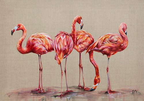 Hot Chicks (Limited Edition) by Georgina McMaster