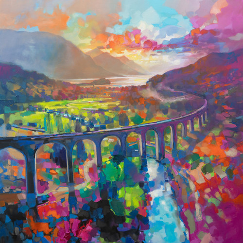 Glenfinnan Viaduct (Limited Edition) by Scott Naismith