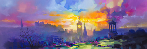 Calton Hill (Limited Edition) by Scott Naismith