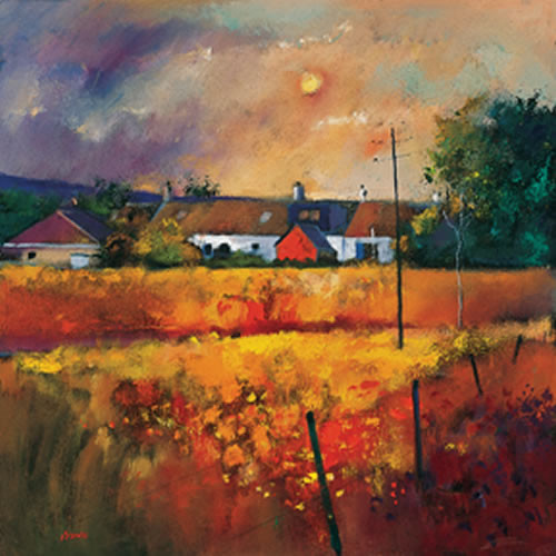 Moonlit Fields by Davy Brown