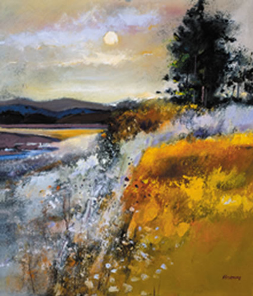 Estuary at Twilight by Davy Brown