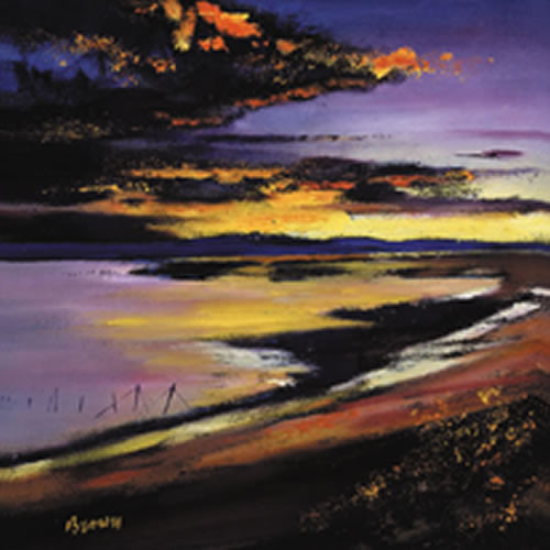 Cree Estuary Sunset by Davy Brown