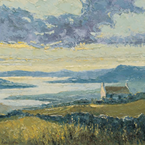Connemara, Lone Cottage at Renvyle by Alan Cotton