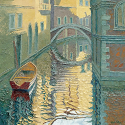 Venice, Rippled Reflections by Alan Cotton