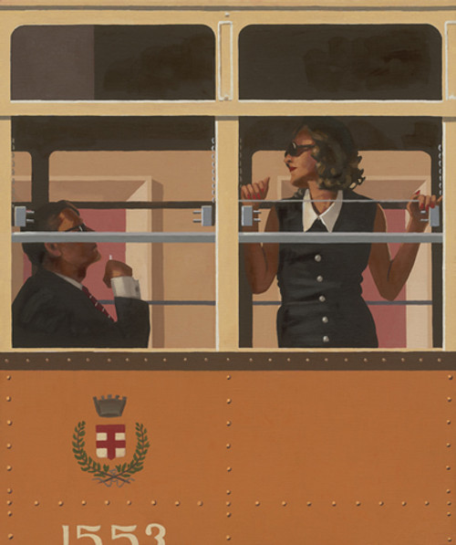 The Look Of Love by Jack Vettriano